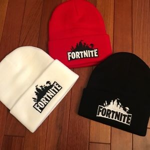 Other - 🎮 NEW Fortnite Knit Beanie Stocking Hats 4 Colors